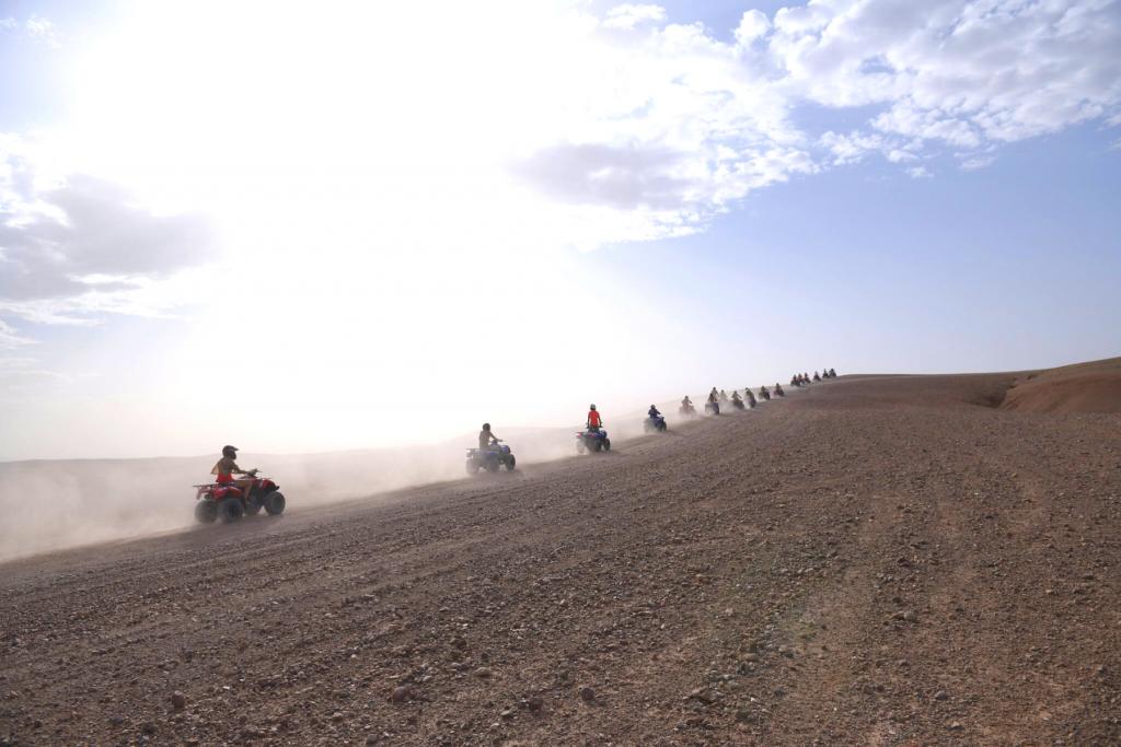 Aventure Quad au désert d'Agafay- Marrakech loisirs online