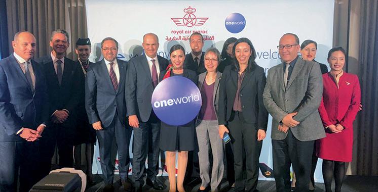 Royal Air Maroc rejoint l'Alliance Oneworld